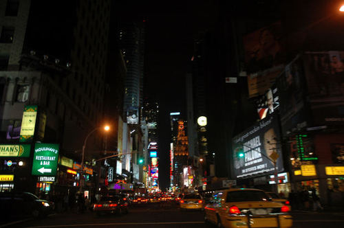 -- city new manhattan nyc york time times squsre year traffic square
