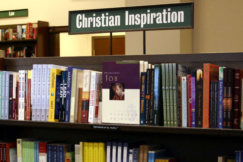 -- christianity shelves shelf books christian inspire religious religion literature book inspiration