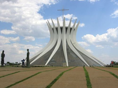 -- city brazil cathedral brasil brasilia oscar urbanism church niemayer architecture
