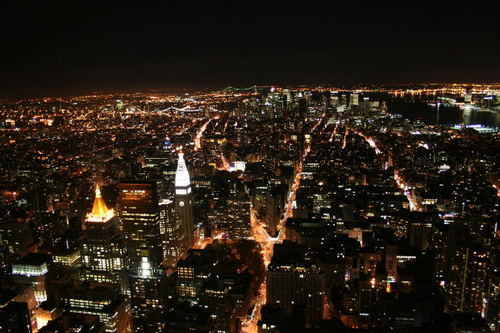 -- city nyc broadway night newyork lights
